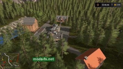 «Pacific Inlet Logging» map FS 17