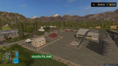 Большая карта для лесозаготовки в FS 17