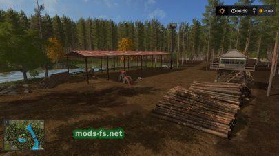 Скриншот карты «GoldenCarpathians»