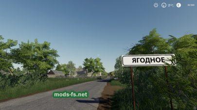 """Карта """"Ягодное"""" для Farming Simulator 2019"""