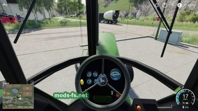 JohnDeere4640 для Farming Simulator 2019