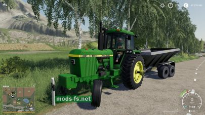 John Deere 4640 для игры Farming Simulator 2019