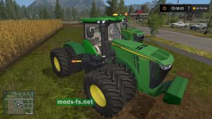 """John Deere 9R"" для игры Farming Simulator 2017"