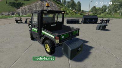 John Deere Gator Utility Vehicle mods