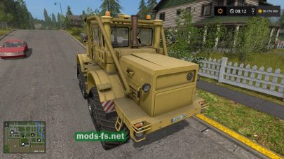 k-700a mod FS 17