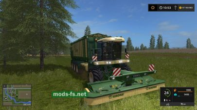 Krone Big Mower Update 2 для FS 17