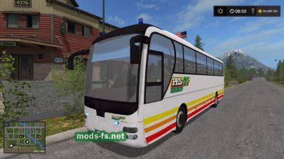 Автобус MAN в игре FS 17