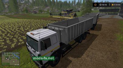 maz-5516a8 mod FS 17