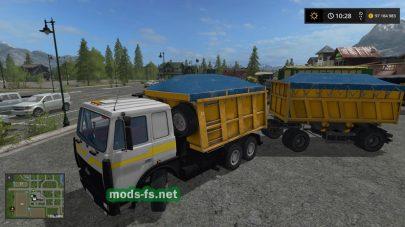 МАЗ-6422 и МАЗ-5516 для Farming Simulator 2017
