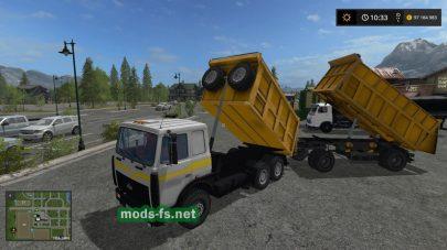 МАЗ-6422 в игре FS 2017
