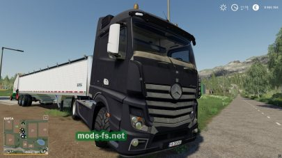 MercedesActrosMP4 для Farming Simulator 2019