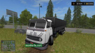 MercedesBenzLP 321 для Farming Simulator 2017