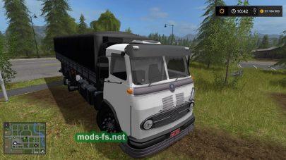 Грузовик Mercedes в FS 17