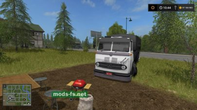 Скриншот мода MercedesBenzLP 321