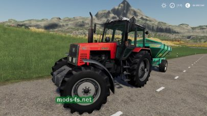 Мод на МТЗ для Farming Simulator 2019