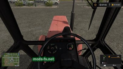 Старый MTZ-80 в игре Farming Simulator 2017
