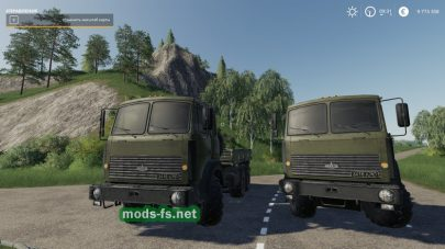 Скриншот мода «maz-63172»
