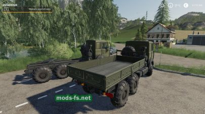 Русский грузовик МАЗ в ФС 19