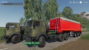 МАЗ для Farming Simulator 2019