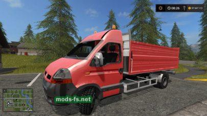 RenaultMaster2015 для игры Фермер Симулятор 17 версии