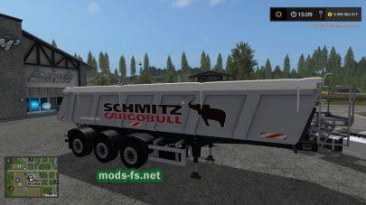 SchmitzCargoBullS.KI HEAVY 8.5 для FS 2017