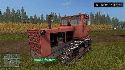 Мод трактора Т4 Алтаец
