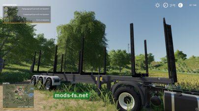 Timber Runner Wide WithAutoloadWood для FS 19