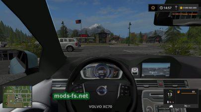Автомобиль Volvo в игре FS 17