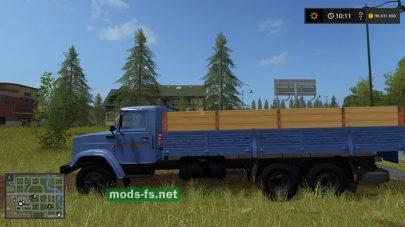 ZIL-133G40 mods