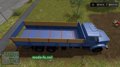 Скриншот мода «ZIL-133G40»