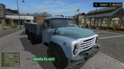 ZIL-130G GKB817 для Farming Simulator 2017