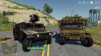 Мод на автомобиль HumveeTactical