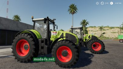 Claas Axion 900 для FS 2019