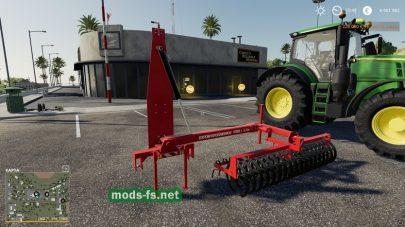 ExpomTerra I Front Cultivator для Farming Simulator 2019