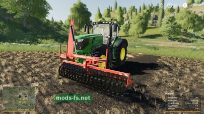 mod Expom Terra I Front Cultivator