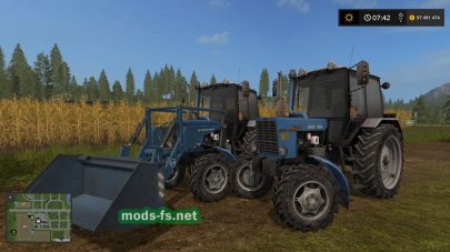 MR МТЗ 82.1 для Farming Simulator 2017