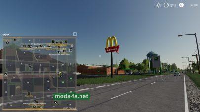 «Макдональдс» в игре Farming Simulator 2019