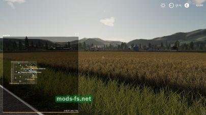 Схема игровой карты «Valley»