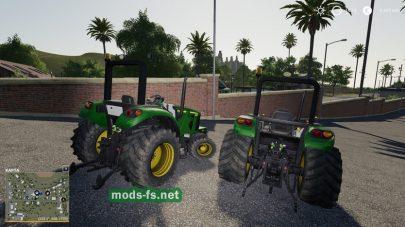 Мод трактора John Deere2032R