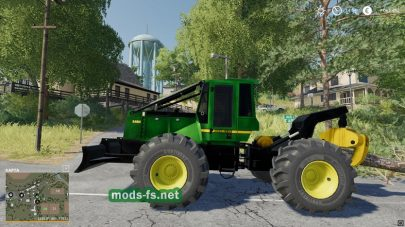 Мод на скиддер для Farming Simulator 2019