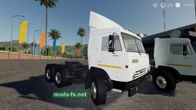 Мод грузовика КамАЗ-5410