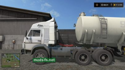 КамАЗ-5410 с цистерной в FS 17