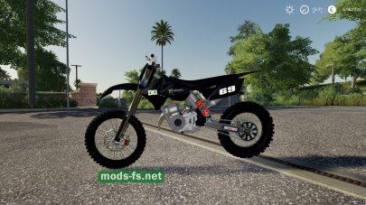 Мод мотоцикла KTM Dirtbike