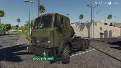 Мод на грузовик МАЗ-6317