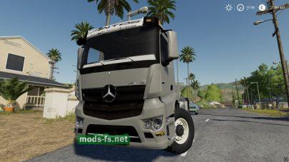 Мод на тягач MercedesAntos3245