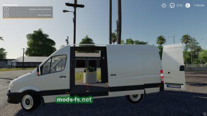 Скриншот мода «Mercedes Benz Sprinter»