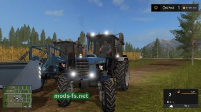 МТЗ 82.1 в игре Farming Simulator 2017