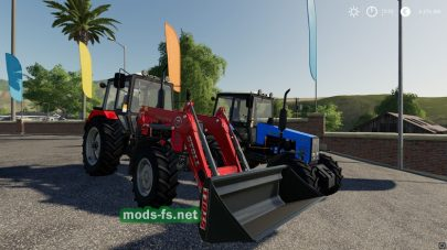 МТЗ-1221 для Farming Simulator 2019