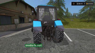 Скриншот мода MTZ-1221