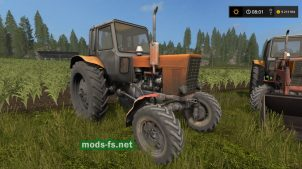 МТЗ-82 для Farming Simulator 2017